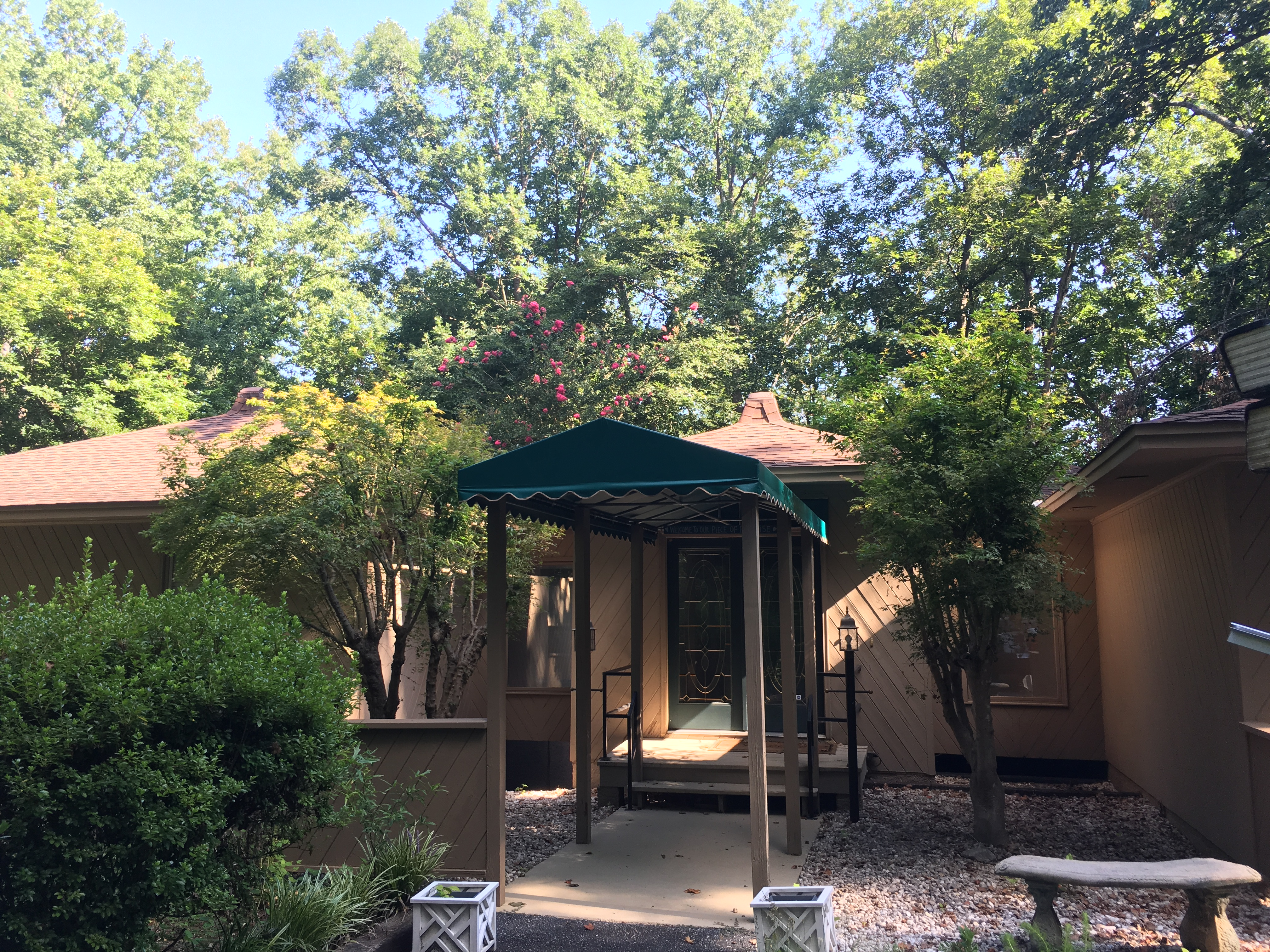 Entrance Walkway Canopy Anderson Awning Amp Canvas Products
